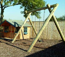 play equipment, jump poles, machined roundwood, swings, slides, market drayton, shrewsbury, shropshire, stoke-on-trent, staffordshire, midlands, telford
