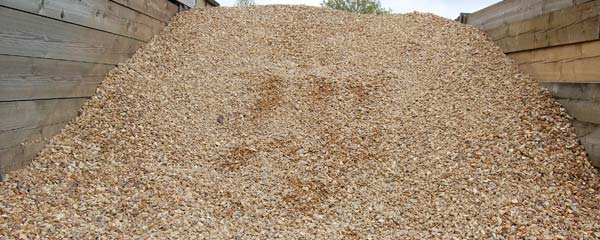 golden gravel, gravel, decorative gravel, driveway - Timberlink, staffordshire