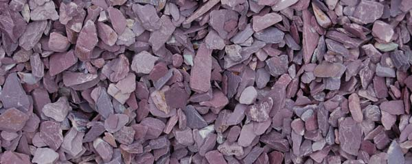 plum sate, slate, decorative gravel, garden edges, driveway, purple slate - Timberlink, staffordshire